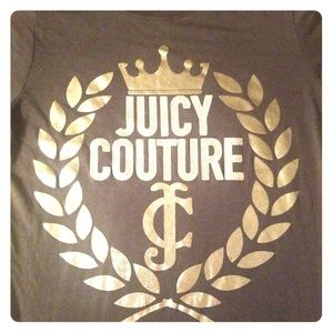 Womens Designer Juicy Couture Small Bling Tee